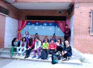 latina escenario patio